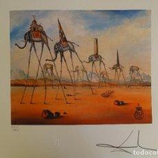 Arte: SALVADOR DALI FIRMADO Y NUMERADO. Lote 293350383