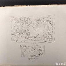Arte: LEDA Y VENUS, MIGUEL ANGEL, GRABADO COBRE, GEMALDE GALLERIE 1814, PLANCHA Nº 69, MITOLOGICO. Lote 295408323