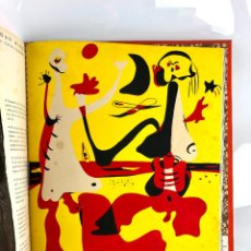 Arte: REVISTA D'ACÍ D'ALLÀ, AÑO 1934 COMPLETO CON POCHOIR DE JOAN MIRÓ. 33X30CM. Lote 295432313
