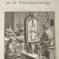 Arte: PROFESIÓN ANTIGUA BARROCA, 1736. LUYKEN. Lote 295446353