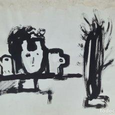 Arte: JORDI SAMSÓ. ABSTRACTO. GRABADO SOBRE PAPEL. 1991.. Lote 295567148