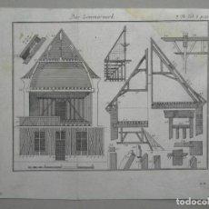Arte: CARPINTERÍA BARROCA, 1752. ANÓNIMO. Lote 296708063