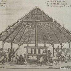 Arte: INGENIO AZUCARERO DE HAITÍ (CARIBE, AMÉRICA), 1722. J-B- LABAT. Lote 296722673