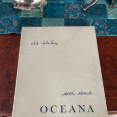 Arte: OCEANA PABLO NERUDA JOSÉ CABALLERO 1971 LITOGRAFÍAS FIRMADAS POR ARTISTA EJE. 193 TODO FOTOGRAFIADO. Lote 296792878
