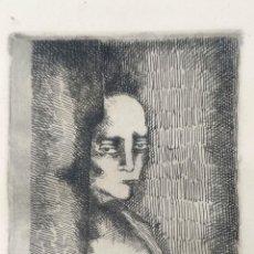 Arte: INTERESANTE GRABADO FIRMADO Y FECHADO A DOCUMENTAR. Lote 296799313