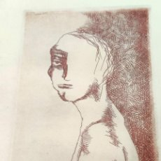 Arte: INTERESANTE GRABADO FIRMADO Y FECHADO A DOCUMENTAR. Lote 296799873