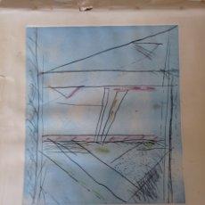 Arte: GRABADO DE ALBERT RÀFOLS CASAMADA. Lote 296888518