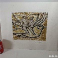 Arte: GRABADO NUMERADO 5/35...FIRMADO A ESTUDIAR 1979. Lote 297156188