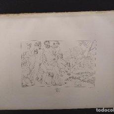 Arte: SILENO, RAFAEL SANZIO, GRABADO COBRE Nº 156, FIRMIN DIDOT 1844. MITOLOGICO. Lote 297161008