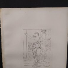 Arte: LA MUERTE DE LUCRECIA, RAFAEL SANZIO, GRABADO COBRE Nº 161, FIRMIN DIDOT 1844.. Lote 297164688