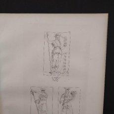 Arte: LA LEY, ABUNDANCIA Y NOBLEZA, RAFAEL SANZIO, GRABADO COBRE Nº 162, FIRMIN DIDOT 1844. MITOLOGICO. Lote 297164868