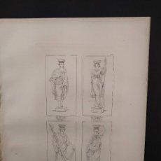 Arte: LA VENDIMIA Y OTROS, RAFAEL SANZIO, GRABADO COBRE Nº 163, FIRMIN DIDOT 1844. MITOLOGICO. Lote 297165758