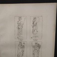 Arte: LA MARINA Y OTROS, RAFAEL SANZIO, GRABADO COBRE Nº 164, FIRMIN DIDOT 1844. MITOLOGICO. Lote 297165953
