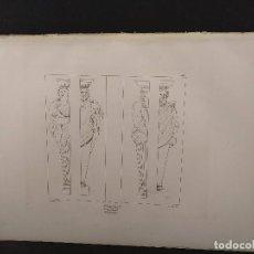 Arte: CARIATIDES, RAFAEL SANZIO, GRABADO COBRE Nº 165, FIRMIN DIDOT 1844. MITOLOGICO. Lote 297166278