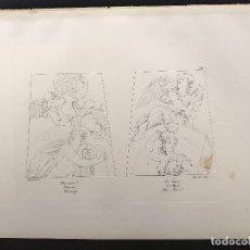 Arte: MERCURIO Y LA LUNA, RAFAEL SANZIO, GRABADO COBRE Nº 169, FIRMIN DIDOT 1844. MITOLOGICO. Lote 297168033