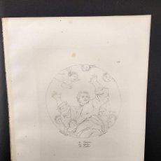 Arte: EL CREADOR, RAFAEL SANZIO, GRABADO COBRE Nº 170, FIRMIN DIDOT 1844. MITOLOGICO. Lote 297169493