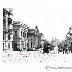 Arte: LAMINA EN HUECOGRABADO 25X32 FOT.HAUSER Y MENET MADRID CARRERA DE SAN GERONIMO. Lote 12810271