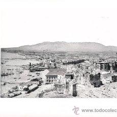 Arte: LAMINA EN HUECOGRABADO 25X32 FOT.HAUSER Y MENET MALAGA VISTA DESDE EL GIBRALFARO. Lote 12810337