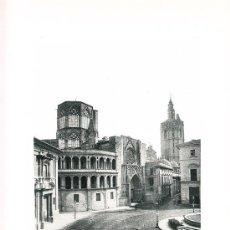 Arte: LAMINA EN HUECOGRABADO 25X32 FOT.HAUSER Y MENET ALCALA DE HENARES EDIFICIO MUDEJAR. Lote 12810456