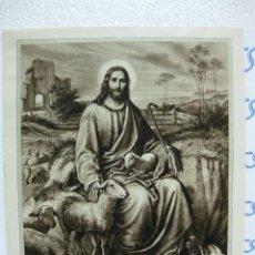 Arte: LAMINA EL DIVINO PASTOR. IMPRIME HUECOGRABADO MUMBRU. BARCELONA. TAMAÑO 30 X 23,5 CM. APROX.. Lote 21787339