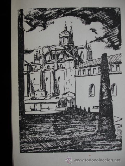 DIBUJO CORIN 18.5X11.AÑOS 1950 (Arte - Huecograbado)