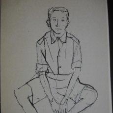 Art: DIBUJO PEPI SANCHEZ 18.5X11.AÑOS 1950. Lote 29760573