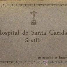 Arte: ANTIGUAS POSTALES EN HUECOGRABADO DEL HOSPITAL DE SANTA CARIDAD DE SEVILLA SERIE I. Lote 30574937