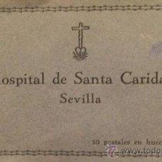 Arte: ANTIGUAS POSTALES EN HUECOGRABADO DEL HOSPITAL DE SANTA CARIDAD DE SEVILLA SERIE 2ª. Lote 30575022