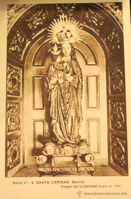 Arte: ANTIGUAS POSTALES EN HUECOGRABADO DEL HOSPITAL DE SANTA CARIDAD DE SEVILLA SERIE 2ª - Foto 3 - 30575022