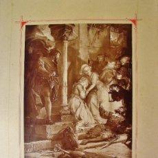 Arte: 3 HUECOGRABADOS SOBRE FAUSTO. SEGUN OBRAS DE AUGUST VON KRELING.. Lote 35652883