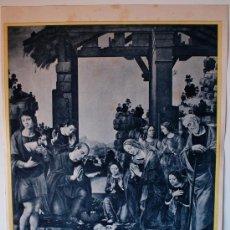 Arte: HUECOGRABADO MUMBRÚ (BARCELONA), NACIMIENTO DE NUESTRO SEÑOR JESUCRISTO. Lote 35819312