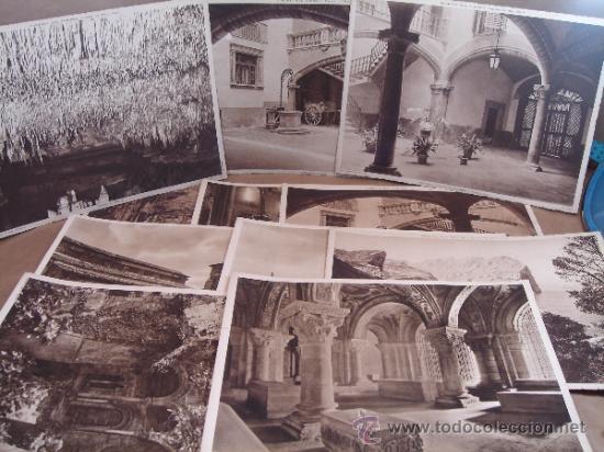 LOTE 11 FOTOGRAFIA POSTAL - HUECOGRABADO MUMBRU - WINOCIO FORTEZA - LEON MALLORCA POLLENSA OLEZA (Arte - Huecograbado)