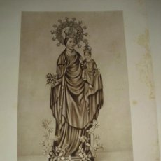 Arte: NUESTRA SEÑORA DAVALL DE FLORS - PATRONA DE TREMP. Lote 43622322