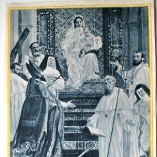 Arte: HUECOGRABADO MUMBRU SIGLO XIX, NUESTRA SEÑORA DE LA MERCED. Lote 44864032