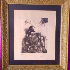 Arte: AGUAFUERTE, AGUATINTA ORIGINAL DE DALÍ, NUMERADO Y FIRMADO 1962, 42X35. Lote 47839681