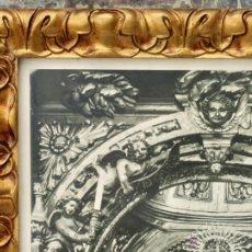Arte: PRECIOSO MARCO MODERNISTA CON BONITO HUECOGRABADO - SANTA MARÍA DEL JUNCAL - IRUN - FOURNIER. Lote 49552450