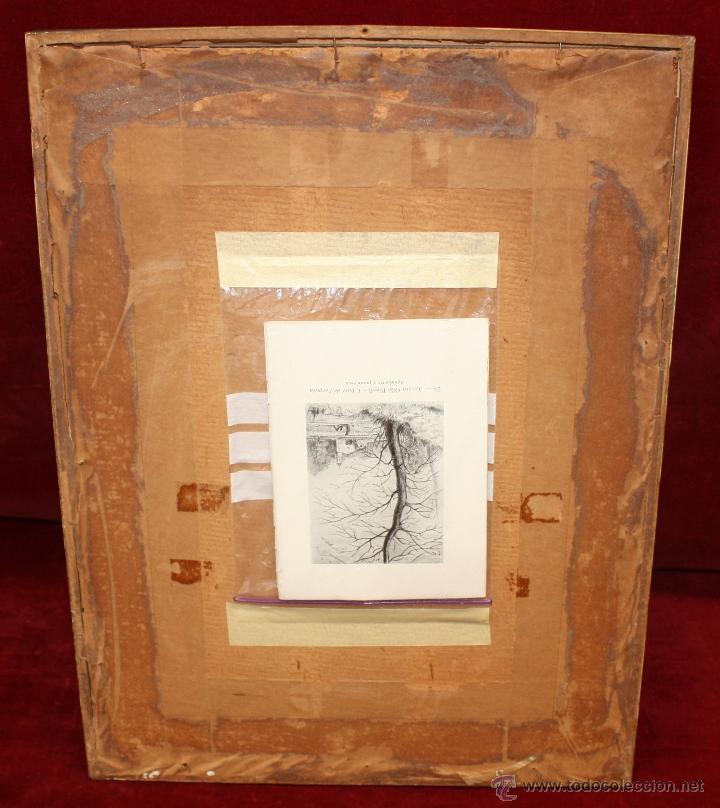 Arte: ANTONI OLLÉ PINELL (Barcelona 1897 - 1981) AGUAFUERTE Y PUNTA SECA FIRMADO A LÁPIZ. AÑOS 50 - Foto 11 - 49750135