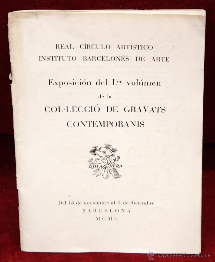 Arte: ANTONI OLLÉ PINELL (Barcelona 1897 - 1981) AGUAFUERTE Y PUNTA SECA FIRMADO A LÁPIZ. AÑOS 50 - Foto 12 - 49750135