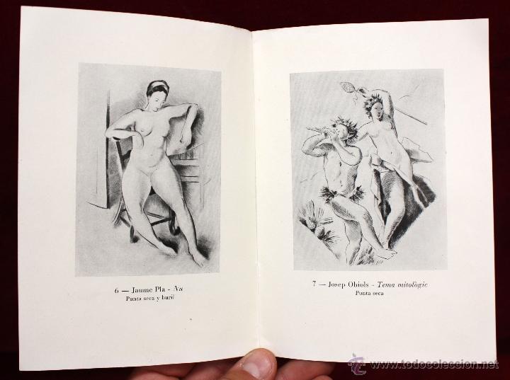 Arte: ANTONI OLLÉ PINELL (Barcelona 1897 - 1981) AGUAFUERTE Y PUNTA SECA FIRMADO A LÁPIZ. AÑOS 50 - Foto 14 - 49750135
