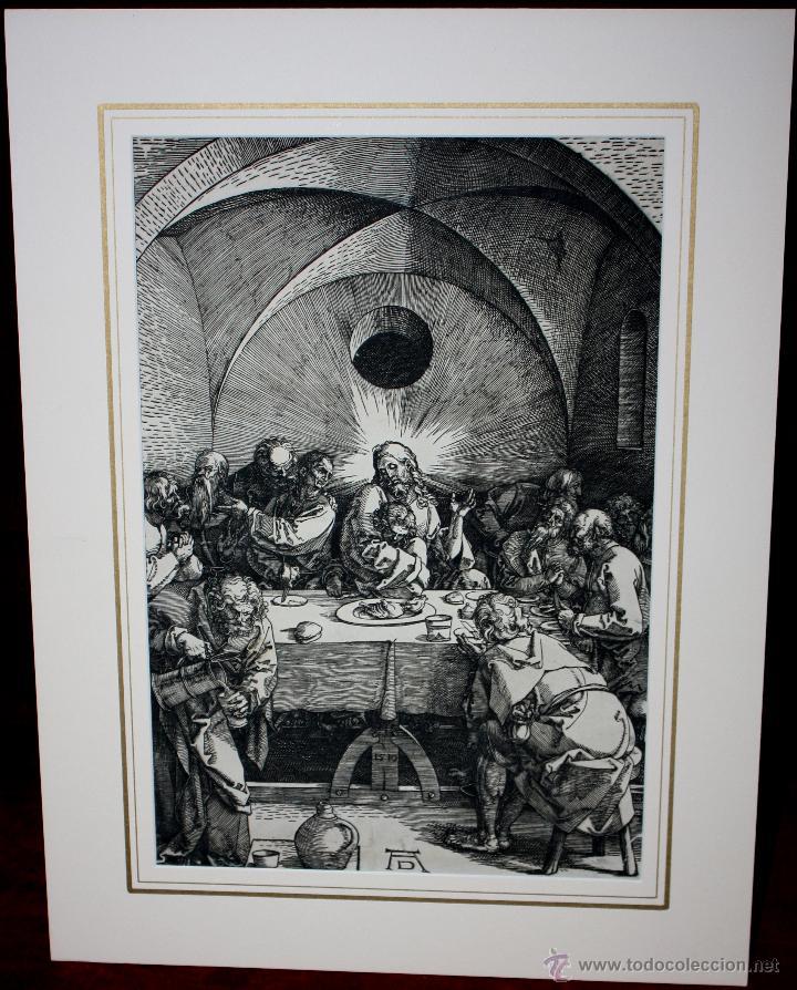 Arte: HUECOGRABADO DE ALBERTO DURERO DEL SIGLO XIX - Foto 5 - 51251842