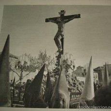 Arte: VALLADOLID PROCESION SEMANA SANTA HUECOGRABADO AÑOS 40. Lote 58161161