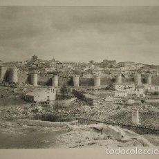 Arte: AVILA VISTA GENERAL HUECOGRABADO AÑOS 40. Lote 58161389