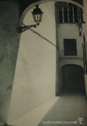 SEVILLA CALLEJON DE LA JUDERIA HUECOGRABADO AÑOS 40 (Arte - Huecograbado)