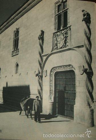 CIUDAD RODRIGO SALAMANCA PALACIO HUECOGRABADO AÑOS 40 (Arte - Huecograbado)