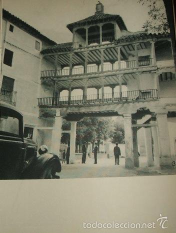 TEMBLEQUE TOLEDO ENTRADA A LA PLAZA HUECOGRABADO AÑOS 40 (Arte - Huecograbado)
