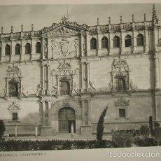 Arte: ALCALA DE HENARES MADRID UNIVERSIDAD HUECOGRABADO AÑOS 40. Lote 58191139