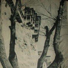 Arte: CUENCA CASAS COLGADAS HUECOGRABADO AÑOS 40. Lote 58191221