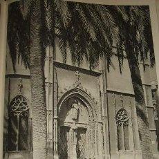 Arte: PALMA DE MALLORCA LA LONJA HUECOGRABADO AÑOS 40. Lote 58200055