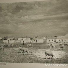 Arte: CORRAL DE ALMAGUER TOLEDO VISTA HUECOGRABADO AÑOS 40. Lote 58200111
