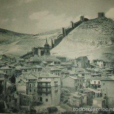 Arte: ALBARRACIN TERUEL VISTA VISTA HUECOGRABADO AÑOS 40. Lote 58203522